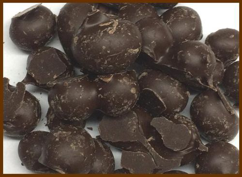 Dark Chocolate Double-Dipped Peanuts